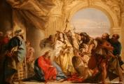 Tiepolo - Christ et la femme adultère