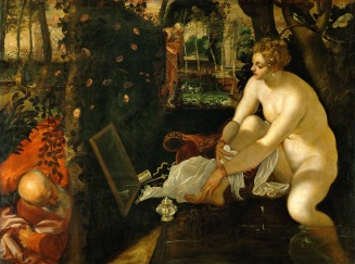 Tintoret - Suzanne au bain