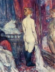 Toulouse-Lautrec - Nu devant un miroir 1897