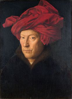 Van Eyck - Autoportrait au turban rouge