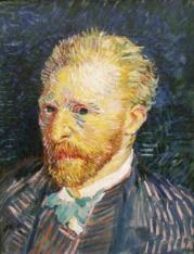 Van Gogh - Autoportrait - Automne_1887