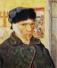 Van Gogh - Autoportrait à l'oreille coupée