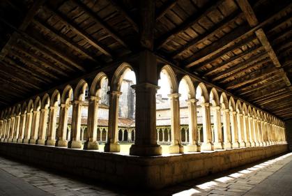 Cloitre du couvent des Carmes en Charente