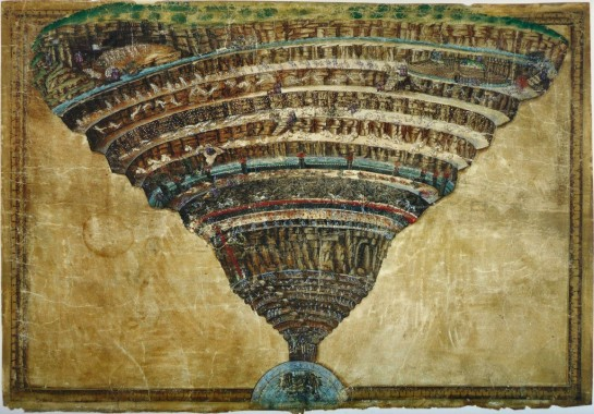 Botticelli - Inferno Dante