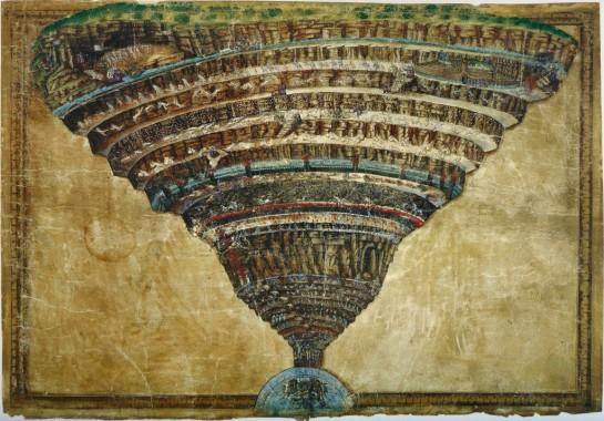 Botticelli - Inferno Dante