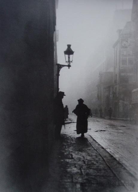 Emile Gos (1888-1969) – L'aveugle de la rue de la Seine, Paris 1911