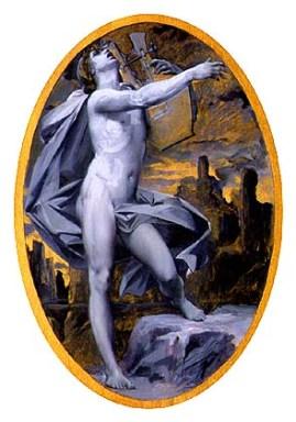 Orphee par Luc-Olivier Merson (1846-1920)