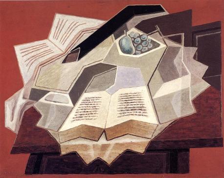 Juan Gris - Le livre ouvert 1925