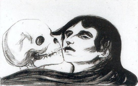 Munch - Baiser de la Mort