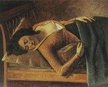 Balthus - Jeune fille endormie