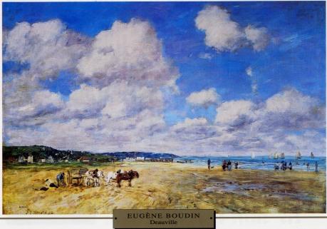 Eugène Boudin - Deauville