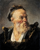 Fragonard - Tête de vieillard
