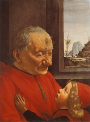 Ghirlandaio - Vieil homme et l'enfant