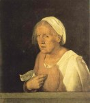 Giorgione - Vieille femme
