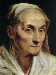 Guido Reni - Portrait d'une vieille femme 1611 - Pinacothèque Bologne