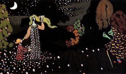 Kandinsky - La nuit 1907