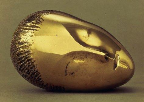 La muse endormie - Constantin Brancusi - 1910