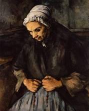 Paul Cezanne - Femme au rosaire