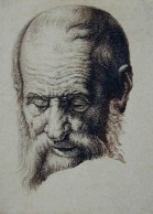 Pietro Giacomo Palmieri XVIII - Tête de vieillard