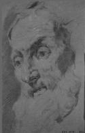 Pittoni - Vieillard étude
