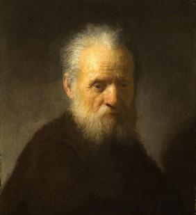 Rembrandt (attribué) - Vieillard