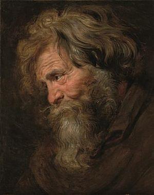 Rubens - Vieil homme étude