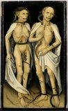 Amants trépassés - Ecole allemande XVI - Strasbourg musée des beaux arts