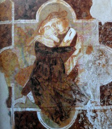 Peintre de Vérone - Deux amants - 1330-33 - Avio - castello Sabbionara
