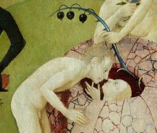 Bosch - Baiser - Jardin des délices