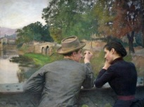 Emile Friant - Les amoureux - Musée des beaux-arts Nancy