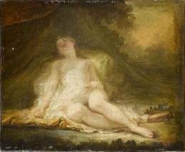 Fragonard - Bacchante endormie