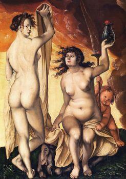 Hans Baldung - XVIème - Deux sorcières