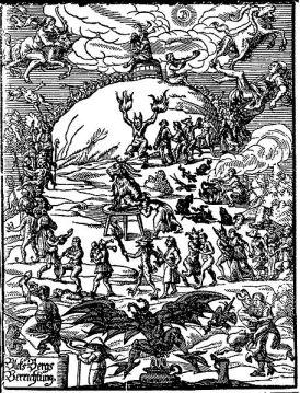 Johannes Praëtorius - Sabbat des sorcières 1638