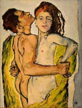 Koloman Moser - Amoureux 1913