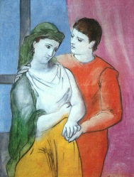 Picasso - Les amoureux