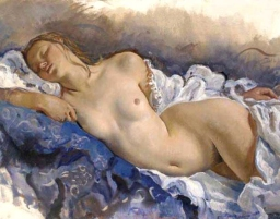 Zinaida Serebryakova - nu dormant 1931