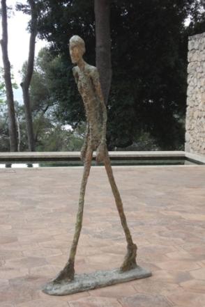 Giacometti - Homme qui marche