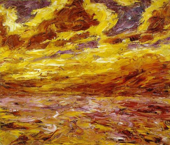 Mer en automne 1910 - Emil Nolde