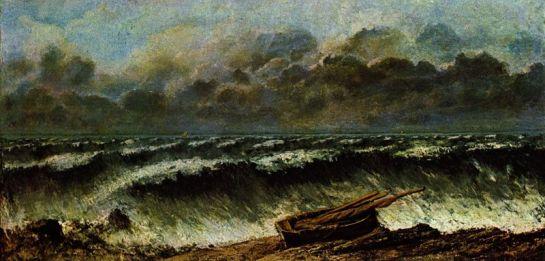 Vagues - Gustave Courbet (Etretat 1869)
