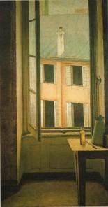 Balthus - La fenêtre cour de Rohan -Troyes