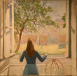 Balthus - La-fille à la fenêtre -Moma
