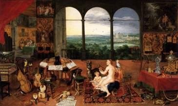 Bruegel - L'ouie - 1618