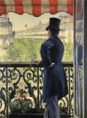 Caillebotte - Homme-à la fenêtre -bd-Haussman