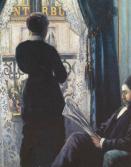 Caillebotte - Interieur - Femme à la fenêtre -1880- Coll.Privée