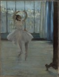 Edgard Degas - Danseuse chez le photographe