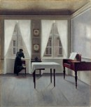 Vilhelm Hammershoi - Fenetres