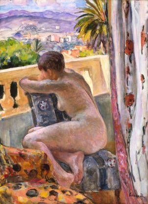 Henri Lebasque - Nu à la fenêtre -1926 - Musée Indianapolis