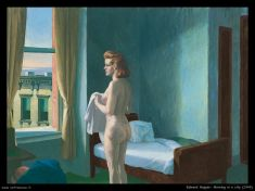Hopper - Morning in a city - 1944