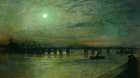John Atkinson Grimshaw - Battersea Bridge