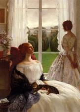 Leonard Campbell Taylor - Rêverie près de la fenêtre